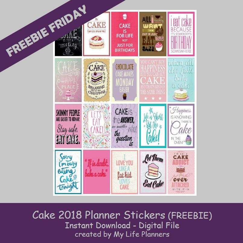 Freebie Friday February 16 2018 My Life Planners